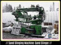 Machine Moulding-Sand Slinging Operation