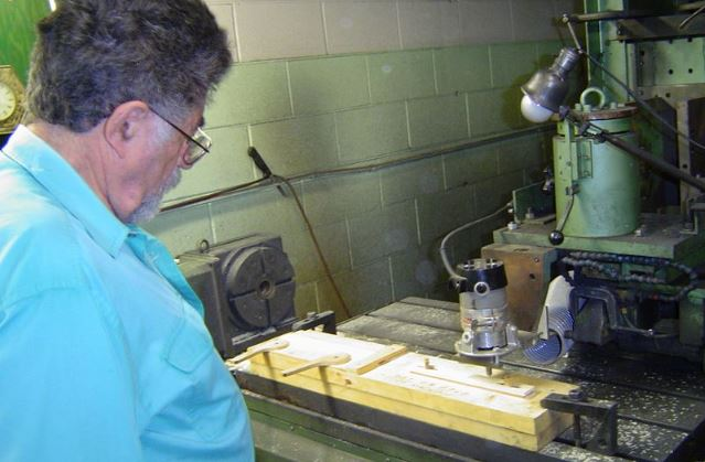 CNC Router Machine in carpentry