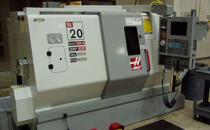 cnc machine in industry