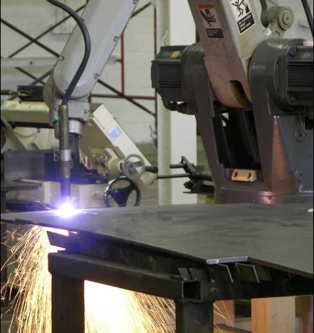 plasma cutting cnc machine in industry