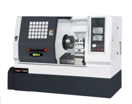 CNC lathe used in Industries