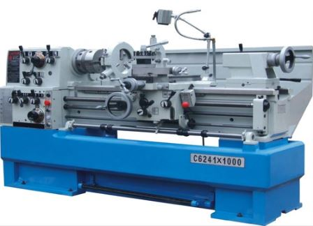 center lathe or engine lathe in industry