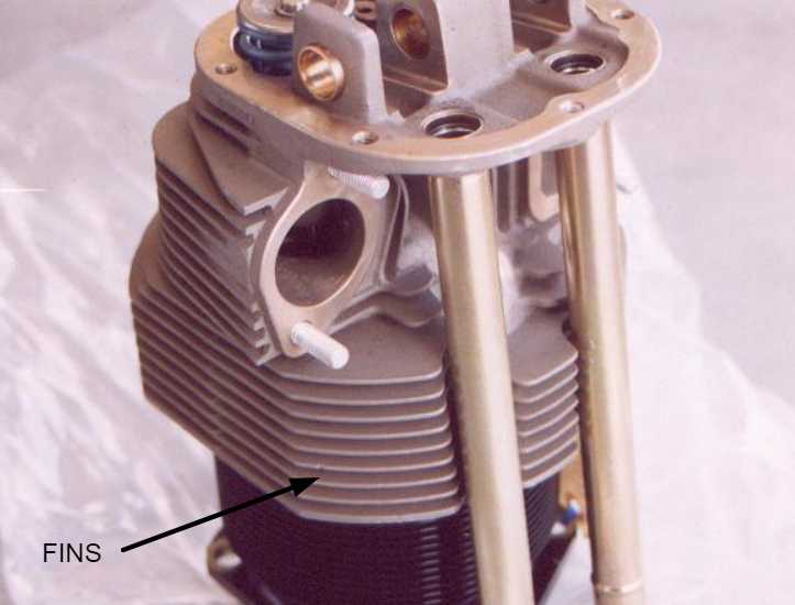 image of a motorcycle engine with find