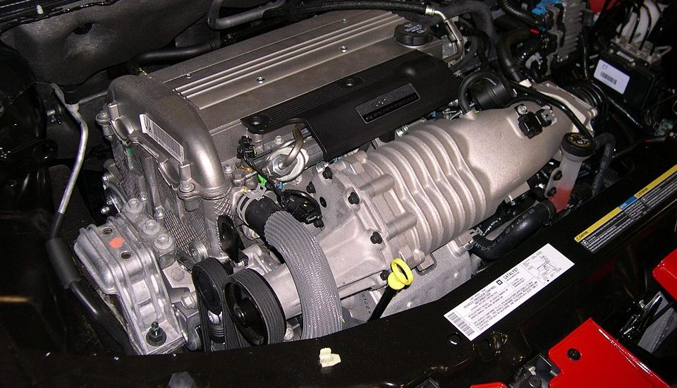 root supercharger in a automobile