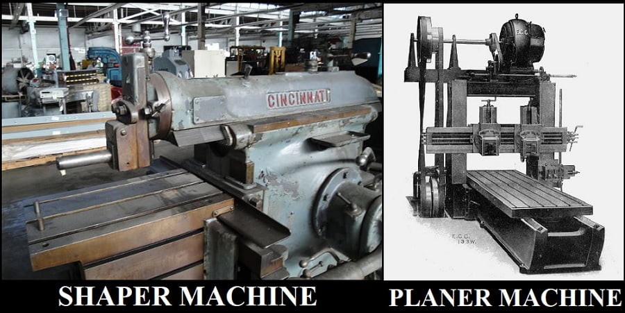 Difference between Shaper and Planer Machine